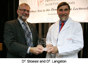 Dr. Stoessl and Dr. Langston